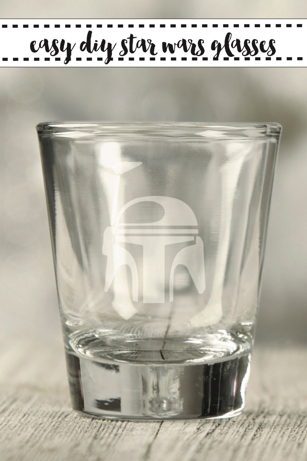 Star Wars Shot Glass