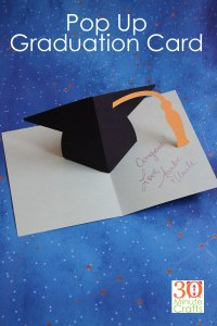 Graduation Hat DIY Card