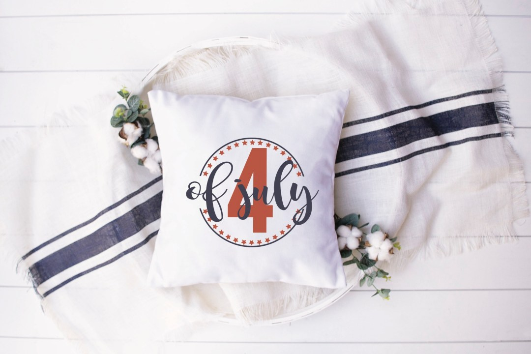 Fourth of July Pillow