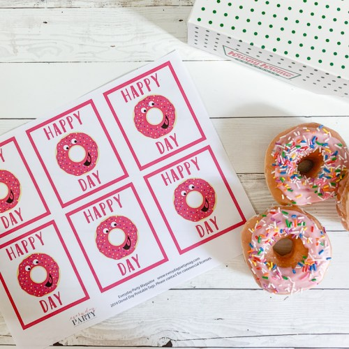 Donut Tags Sprinkle Donuts