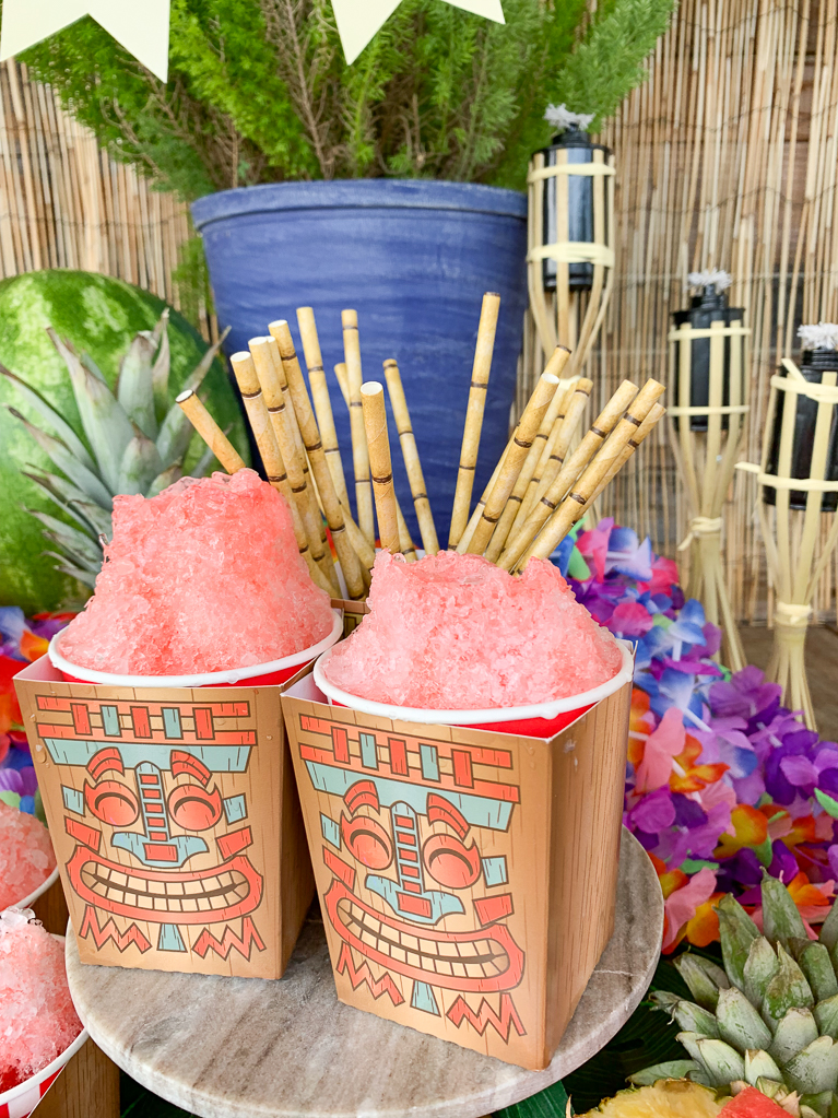 Tiki Hawaiian Shave Ice