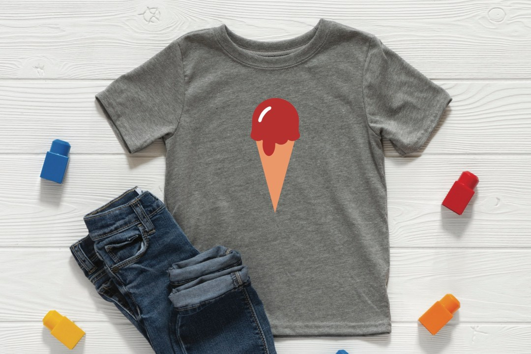 Boys Ice Cream Shirt