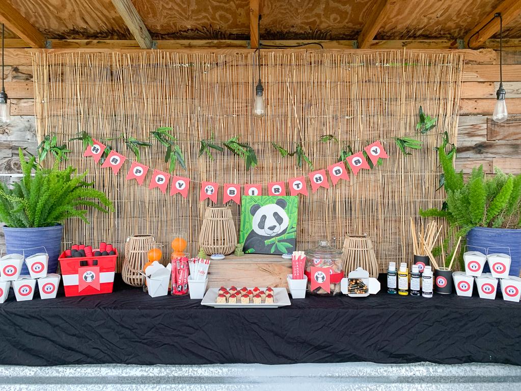 Social Artworking Panda Party