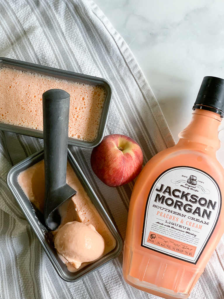 Peaches and Cream Ice Cream