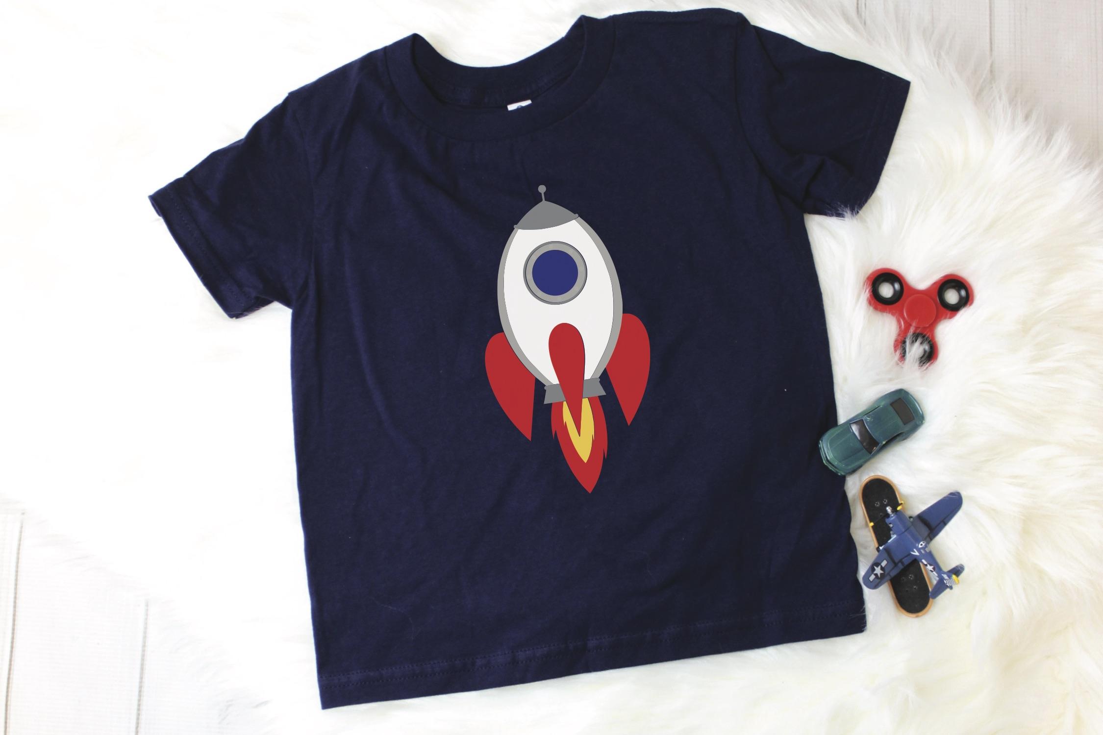 Kids Rocket Shirt