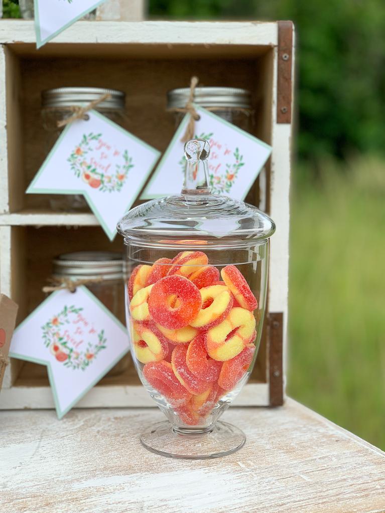 Peach RIng Candies