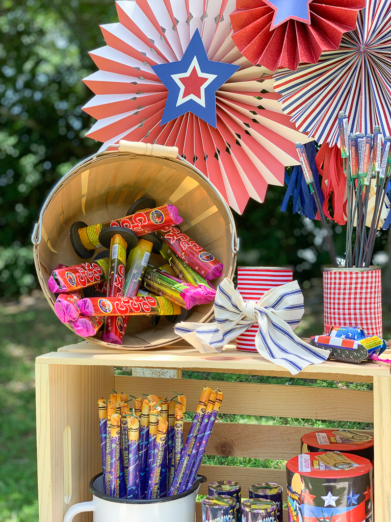 Basket of Fireworks