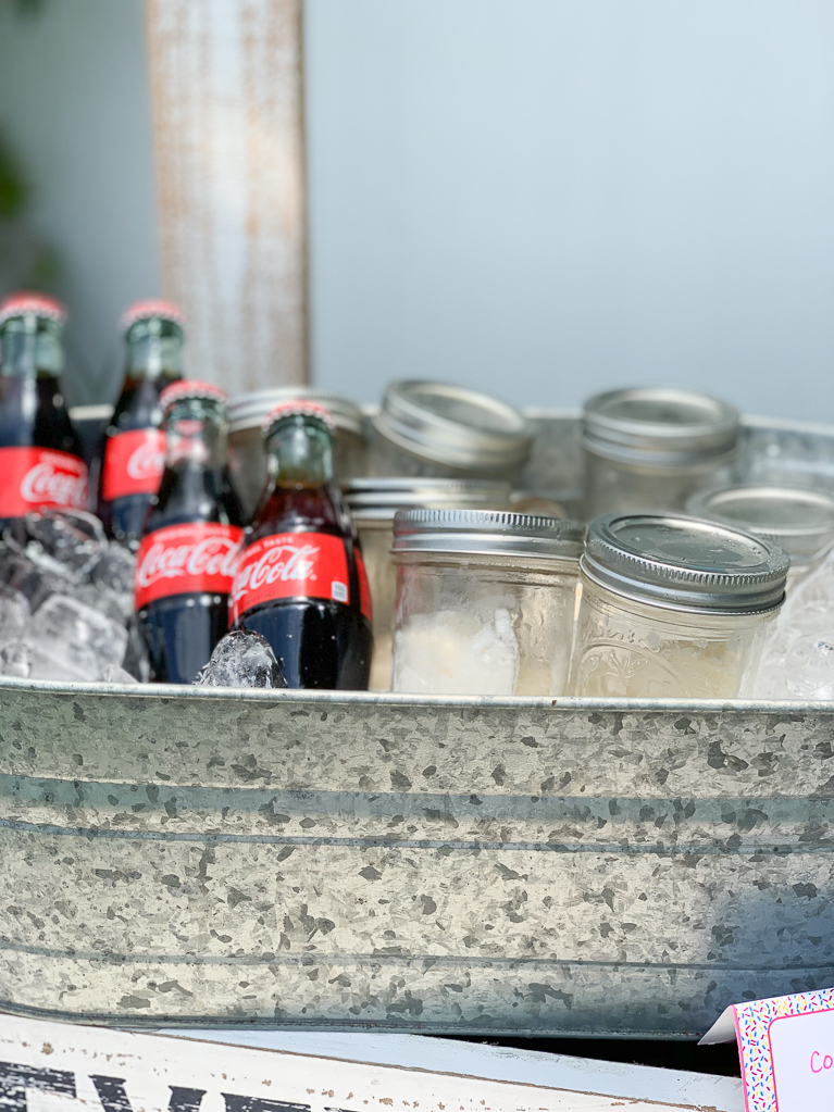Coke Float Station