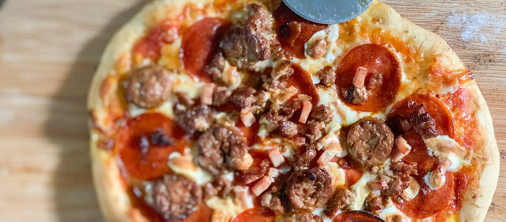 Meat Pizza Recipe