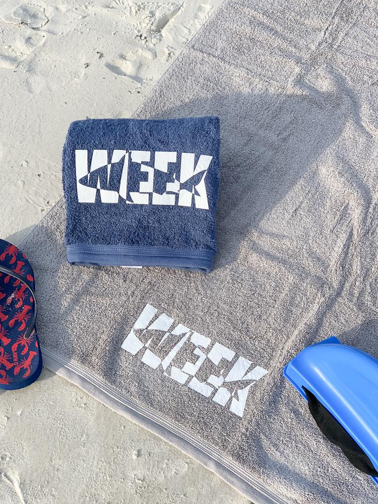 Shark Beach Towels