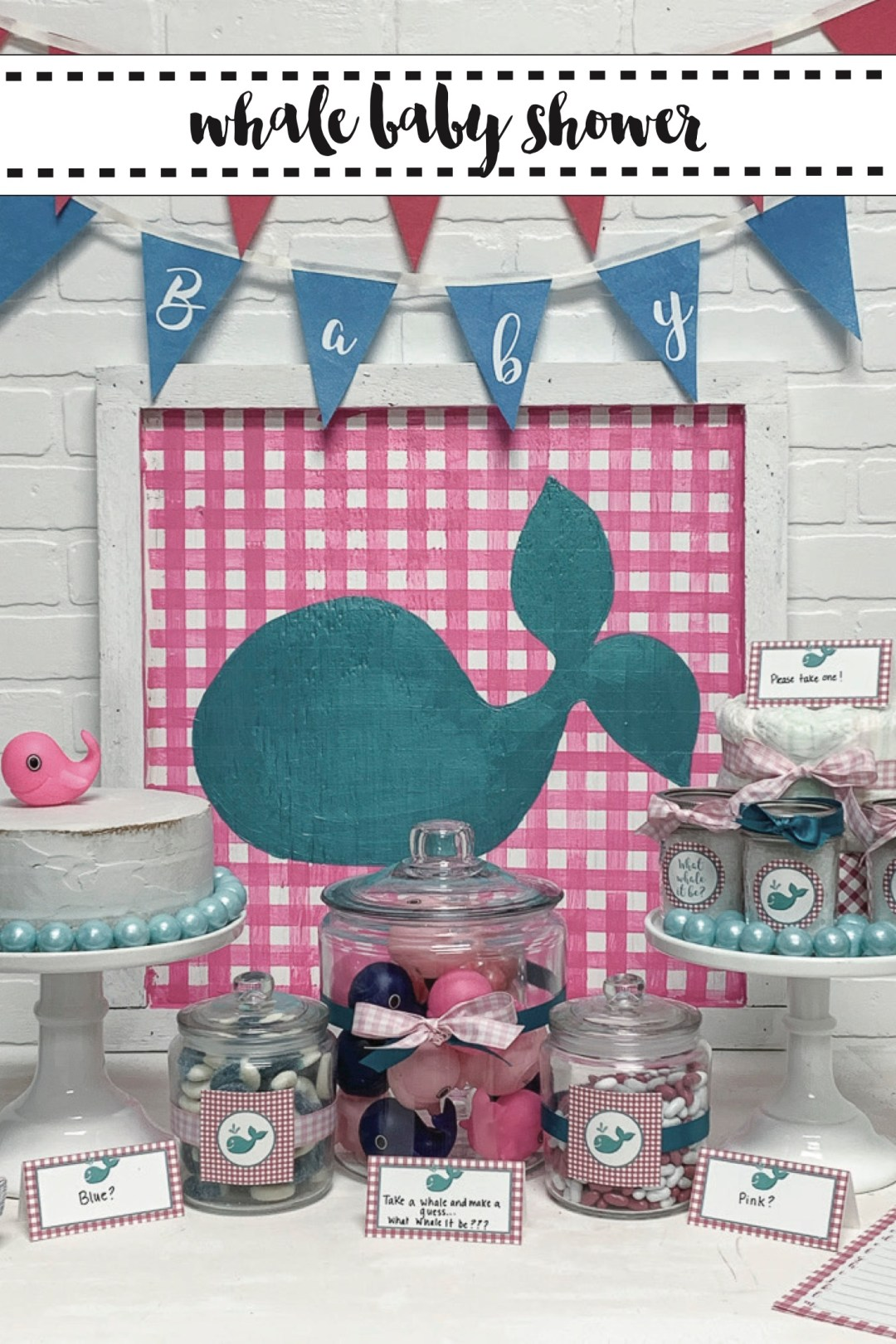 What Whale it Be Baby Shower