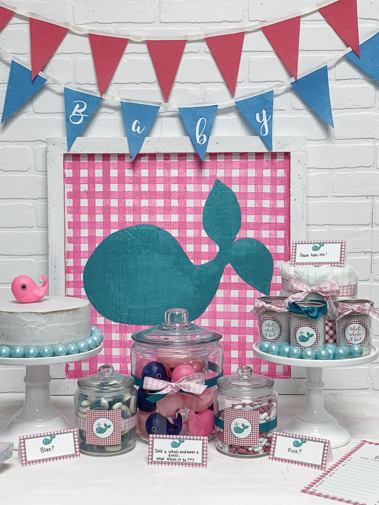 Preppy Whale Party
