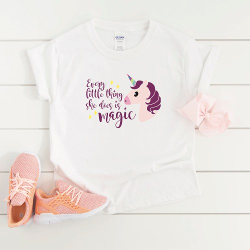 Every Little Thing She Does Is Magic Unicorn Shirt