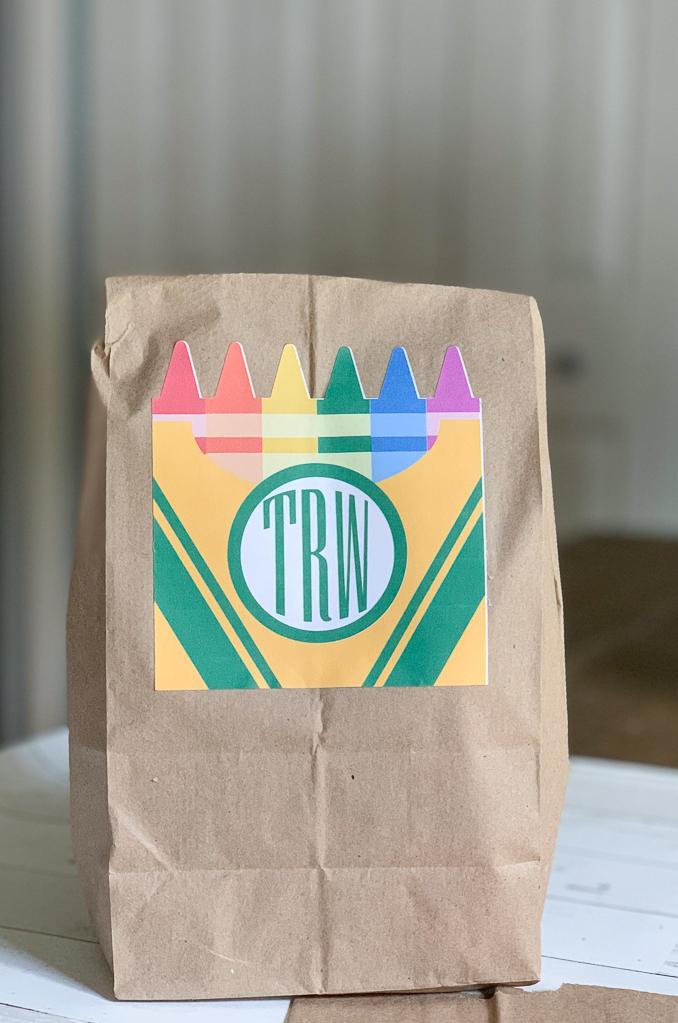 School Lunch Bag