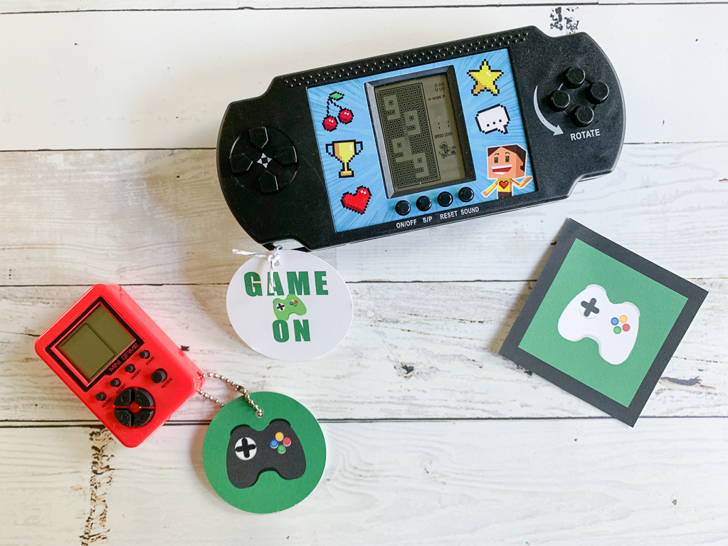 Hand Held Game Party Favors