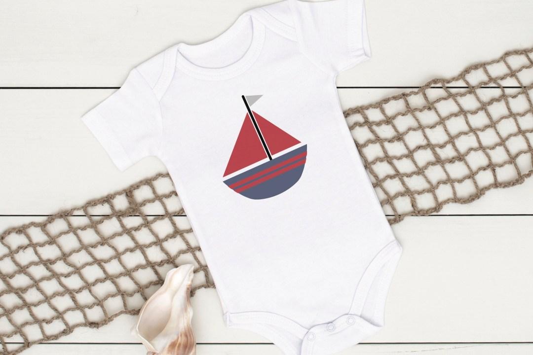 Nautical Onesie