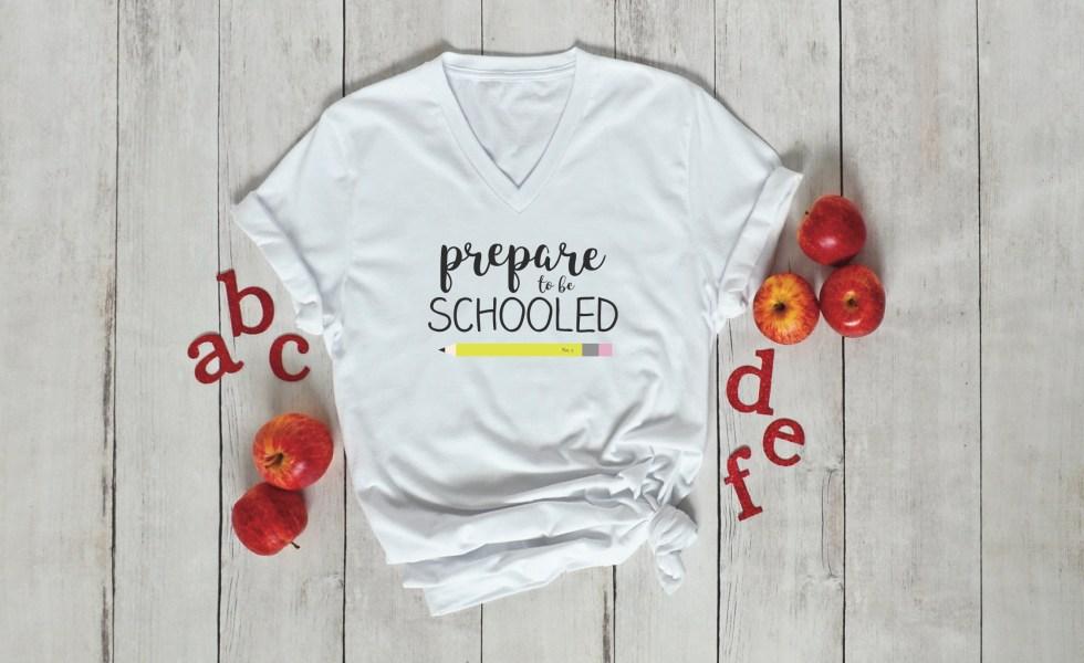 Teacher T-Shirt Apples