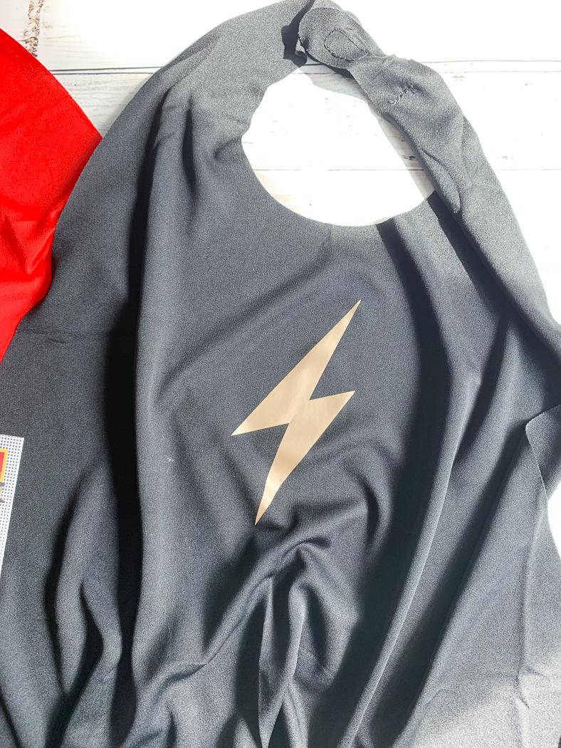 Black Super Hero Cape