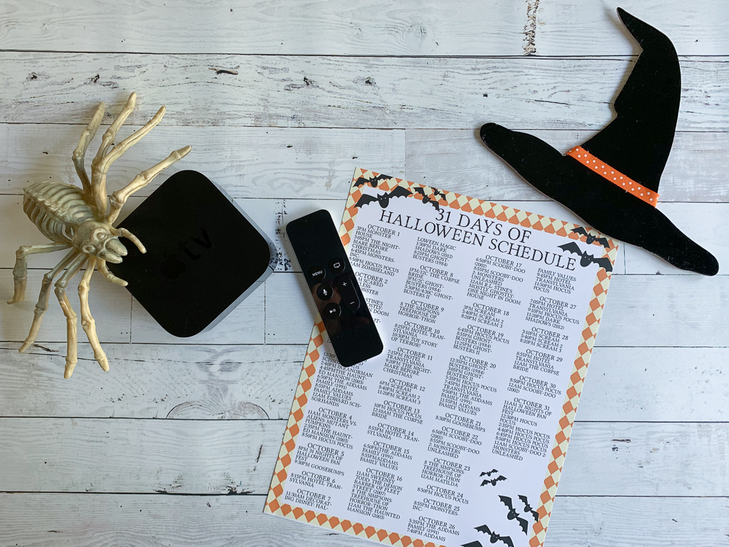 Halloween Table Top
