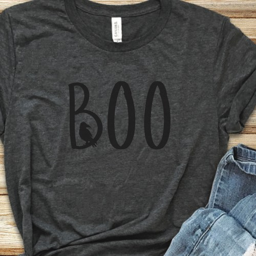 Grey Halloween Shirt