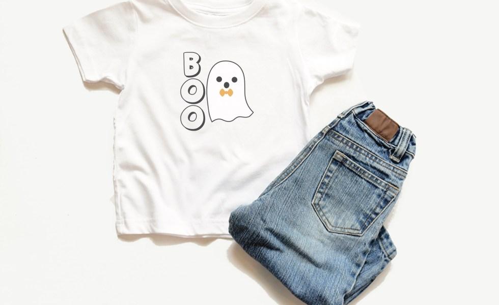Little Boys Halloween Shirt