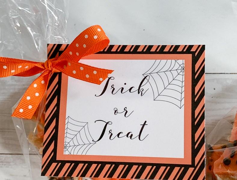 Halloween Tags and Treats