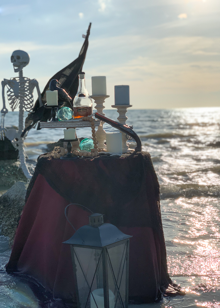 Beach Side Pirate Party