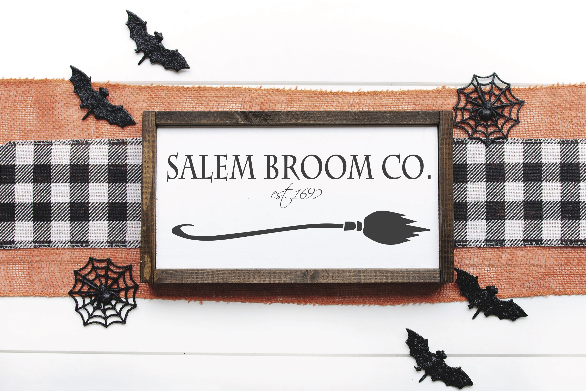 Salem Broom Co Sign