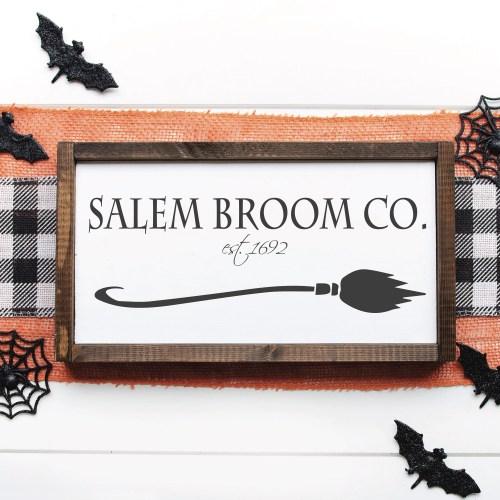 Salem Broom Co Sign