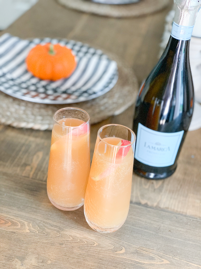 Fall Table Setting Mimosa
