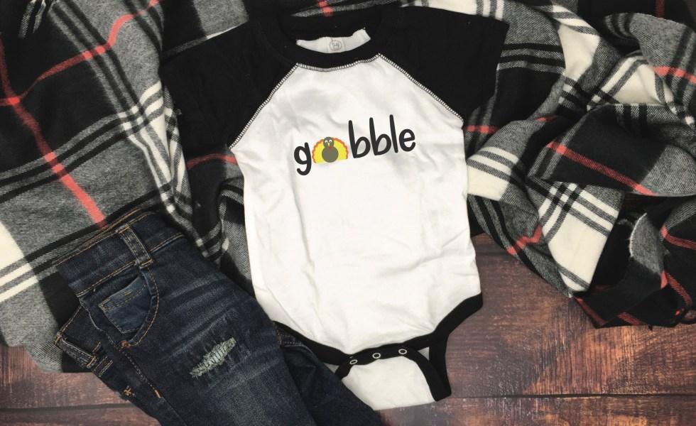 Infant Thanksgiving Onesie