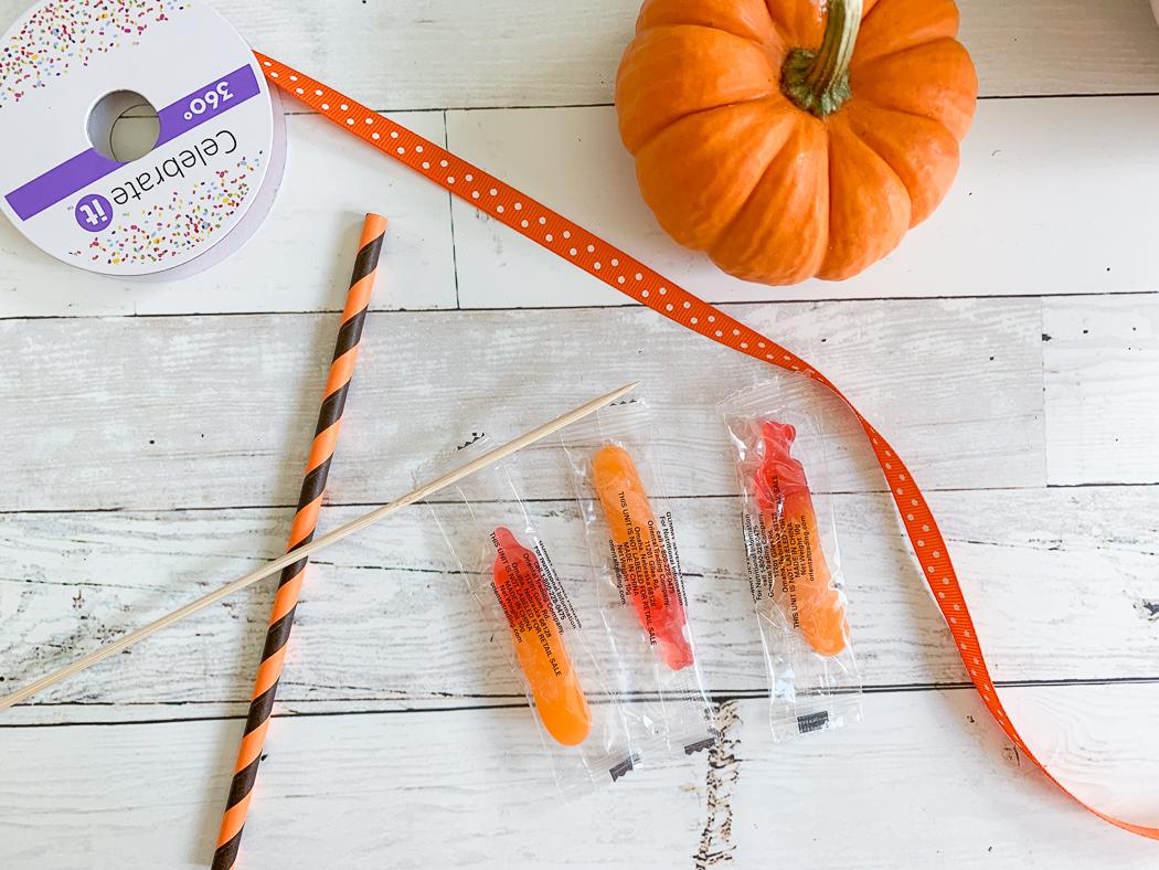 Halloween Candy Pumpkins