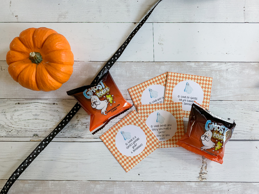 Pumpkin Ribbon Marshmallows