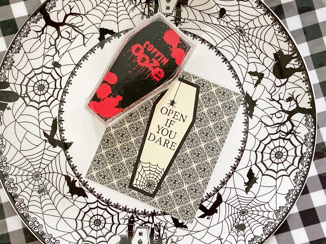 Halloween Plate Halloween Treat