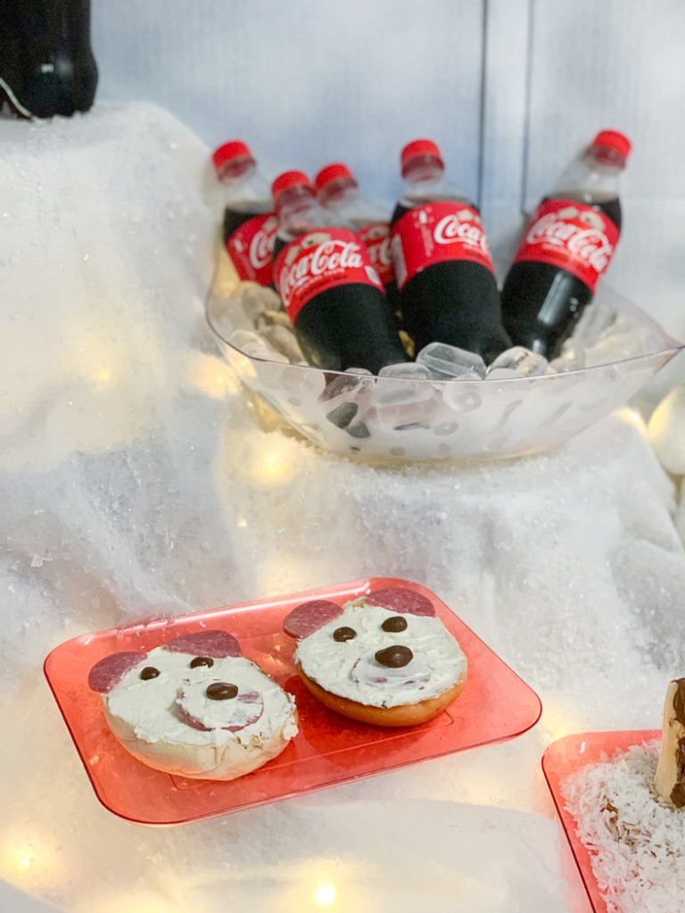 Polar Bear Sandwiches Coca-Cola