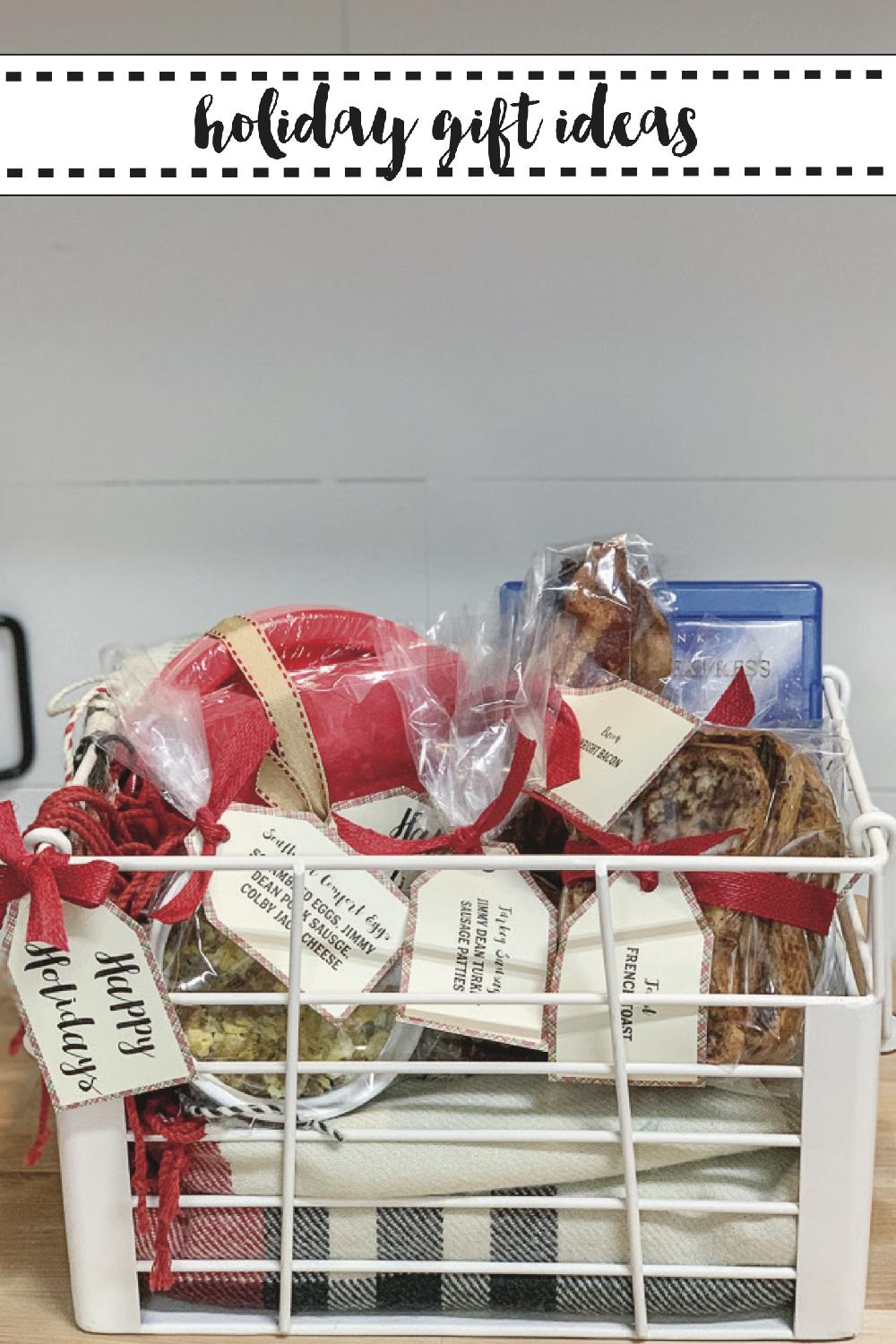 Holiday Food Gift Basket