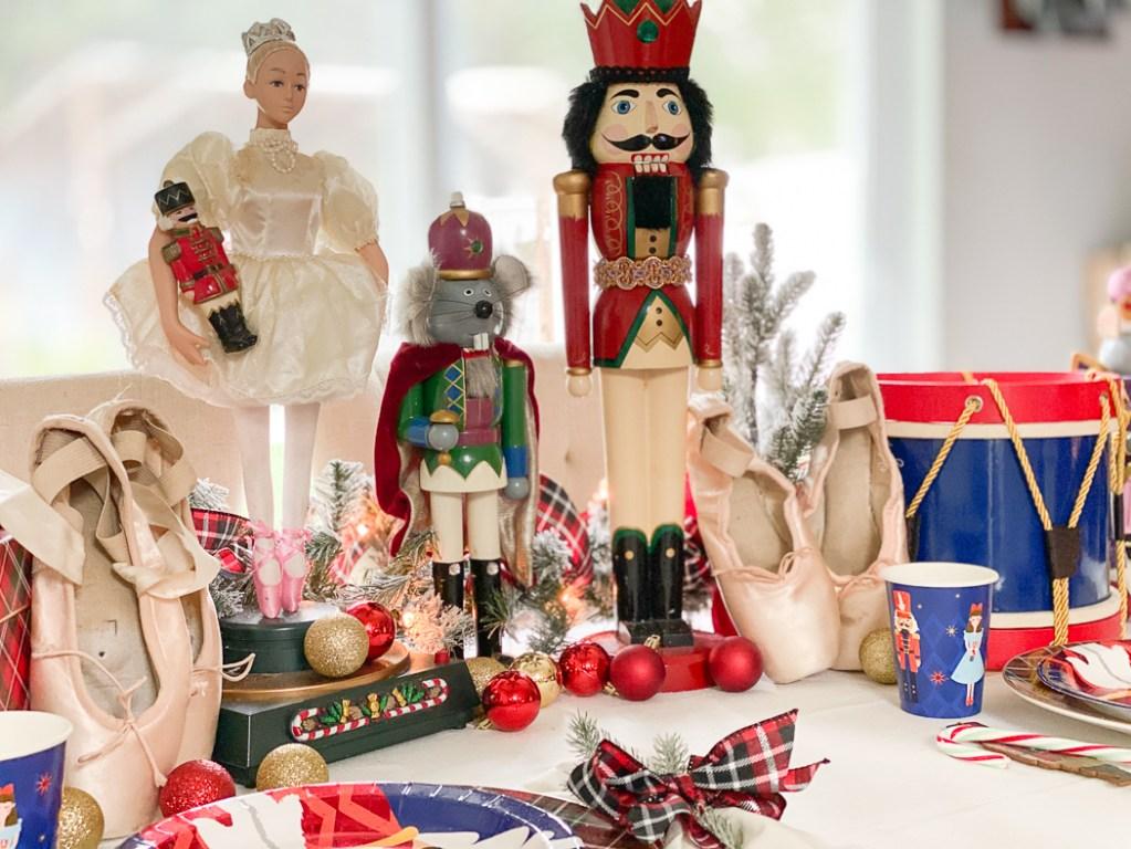 Nutcracker Dolls Toy Drum Ballet Pointe Shoes
