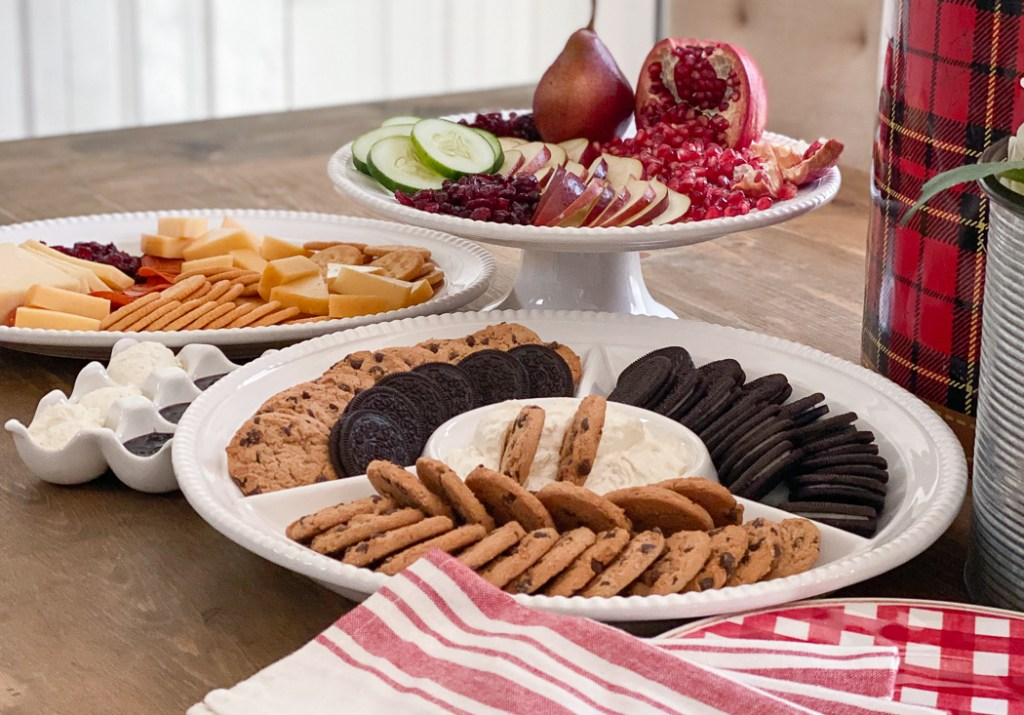 Fruit Tray Cookie Platter Cheese and Meat Tray