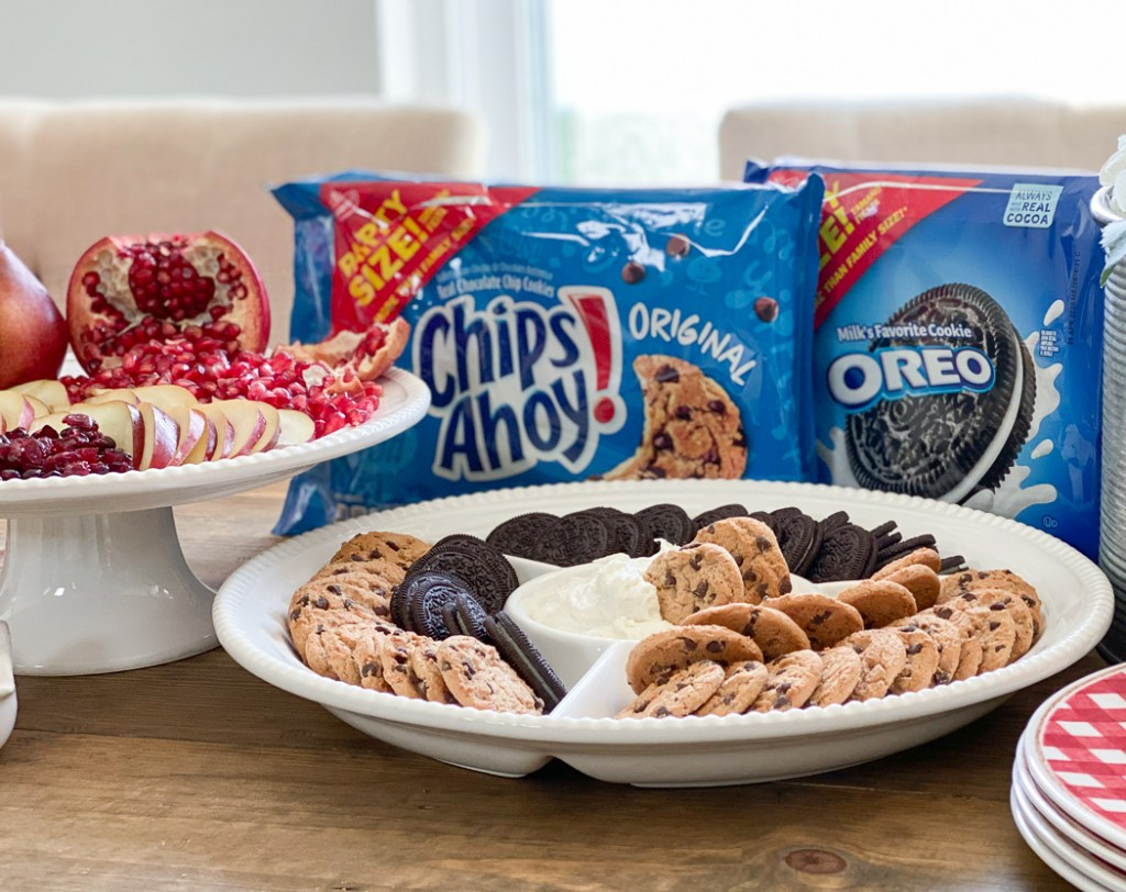 Chips Ahoy! OREO Party Size Packs