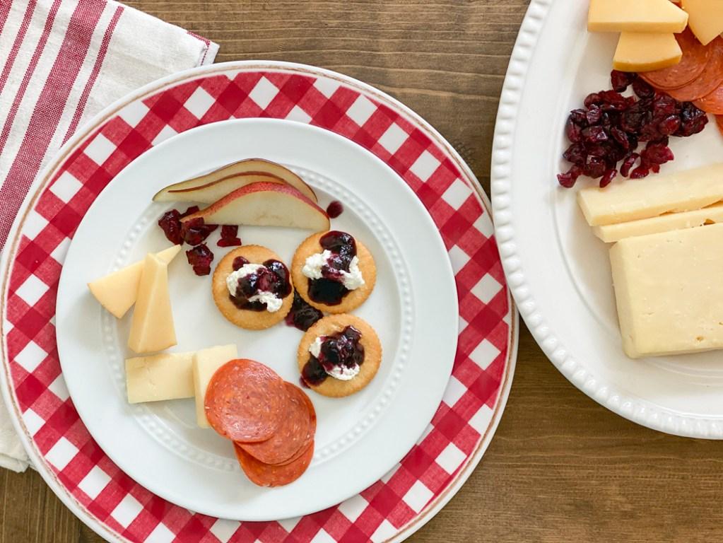 Cheese Platter RITZ Appetizers