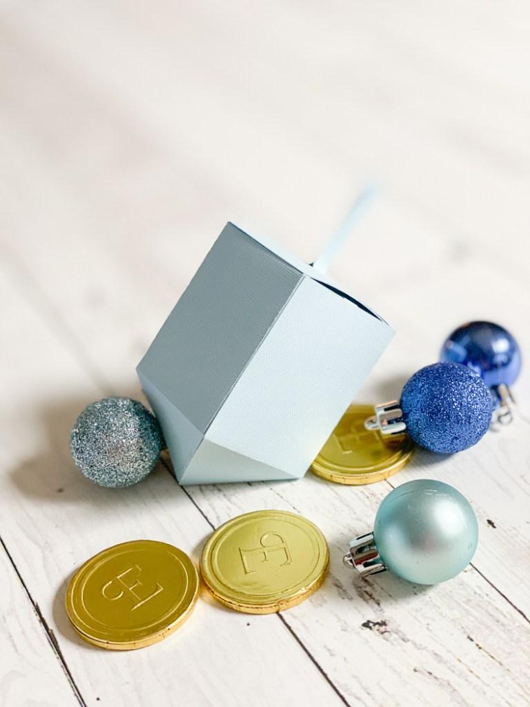 Hanukkah Dreidel Gift Box