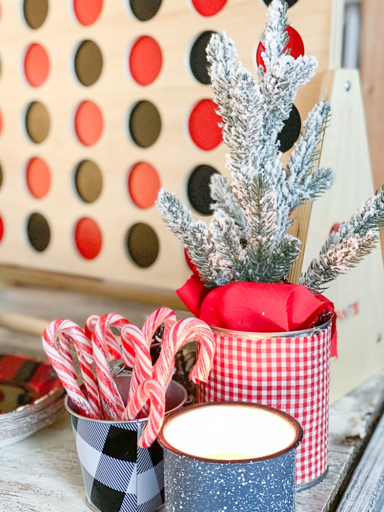 giant connect four candy canes