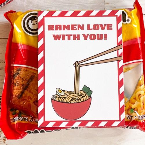 Ramen Noodle Valentines