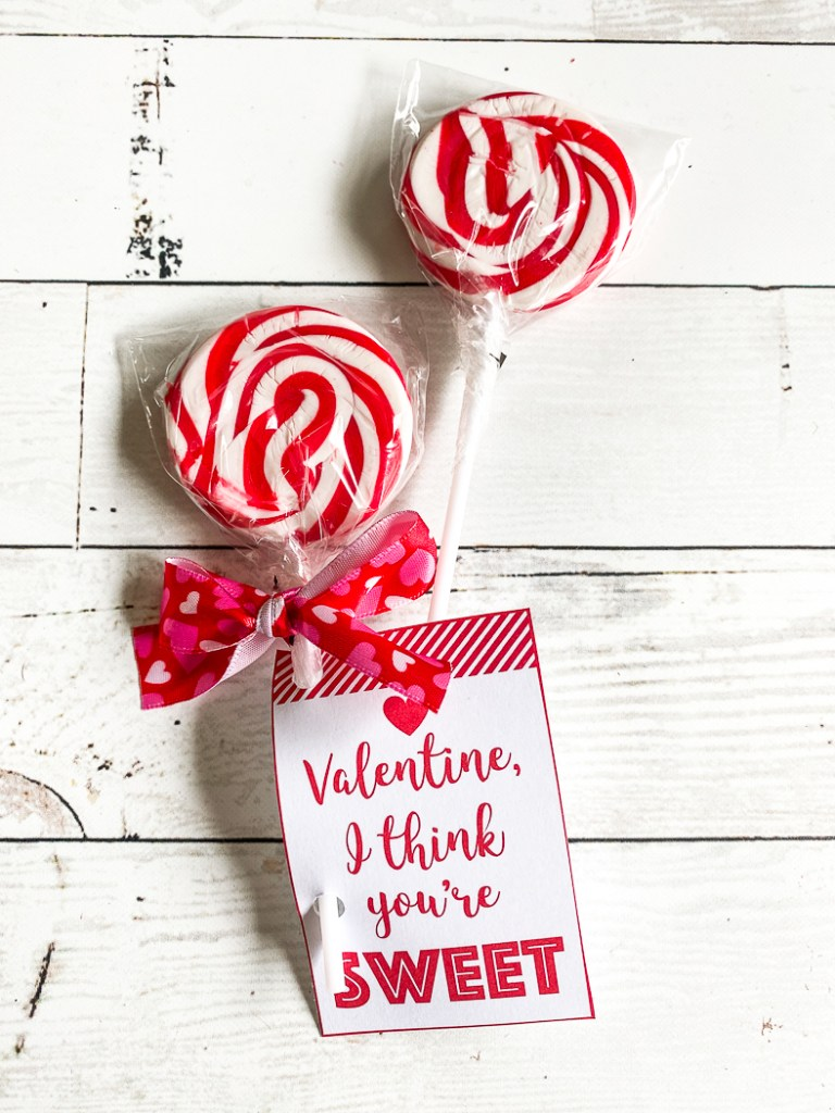 Lollipop and Valentine
