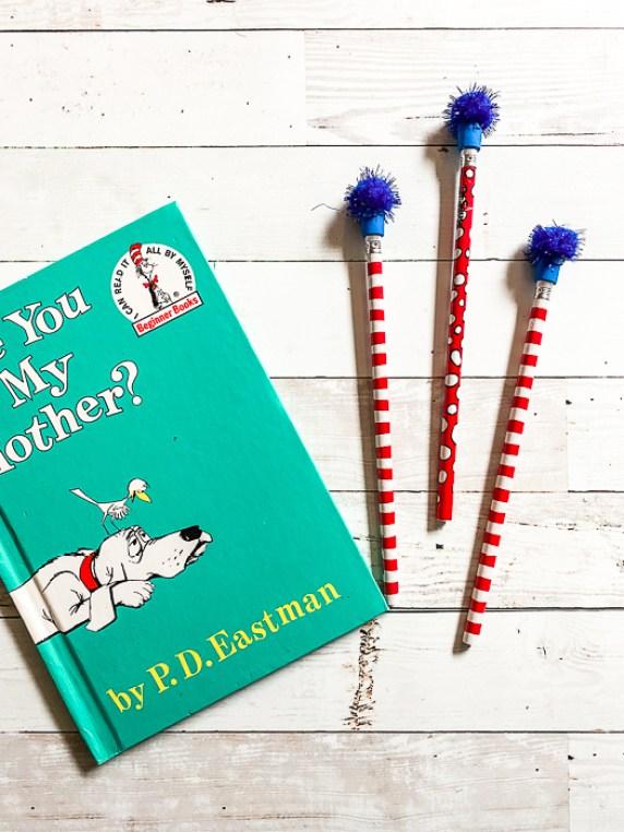 Dr. Seuss Book Dr. Seuss Pencils