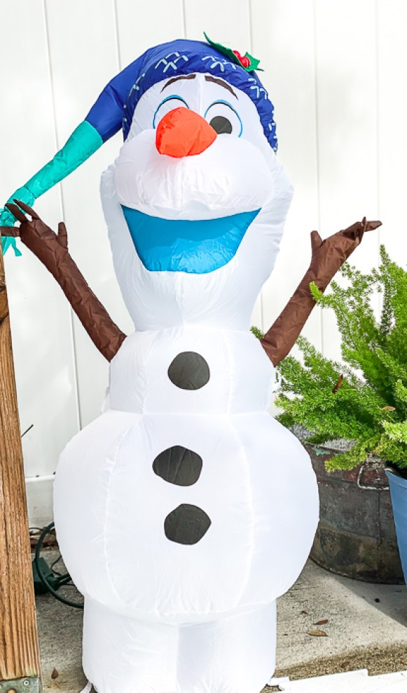 Inflatable Frozen Olaf