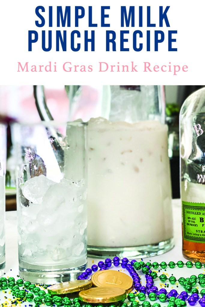 Mardi Gras Drink Recipe