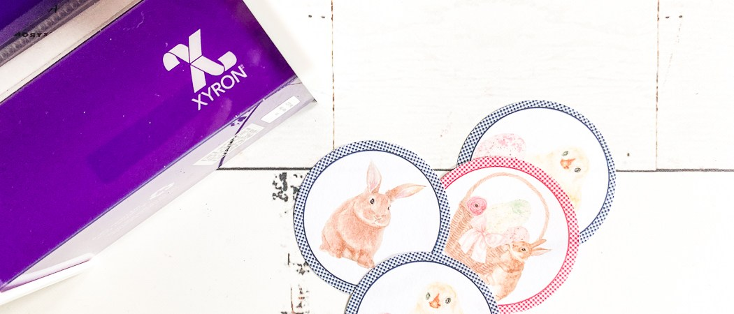 Xyron Sticker Maker Easter Stickers