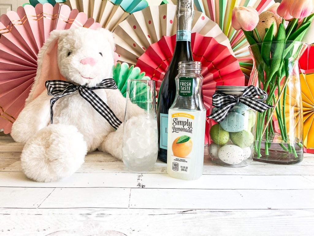Easter Cocktail Ingredients