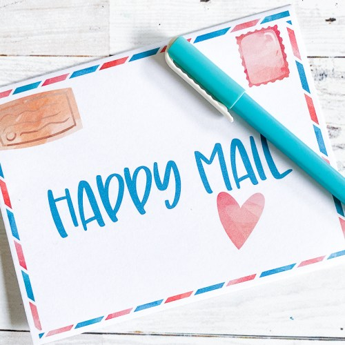 Happy Mail Card